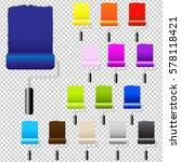 paint rollers  vector... | Shutterstock .eps vector #578118421