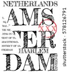 amsterdam athletic sport... | Shutterstock .eps vector #578126791