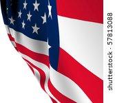 american flag   old glory flag... | Shutterstock . vector #57813088