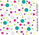 Colourful Circle Pattern...