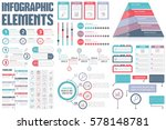 infographic elements   process... | Shutterstock .eps vector #578148781
