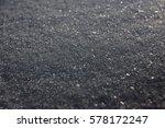 a smooth dark grey asphalt... | Shutterstock . vector #578172247