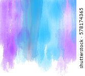 background with watercolour... | Shutterstock .eps vector #578174365