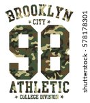 brooklyn camouflage background...   Shutterstock .eps vector #578178301