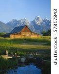 Iconic Mormon Barn In The Teto...