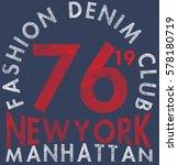 new york city  bronx grunge... | Shutterstock .eps vector #578180719