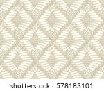 knitted seamless patterns.... | Shutterstock .eps vector #578183101