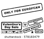 only for european text rubber... | Shutterstock .eps vector #578183479