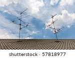 Home Tv Antennas Mounted On A...