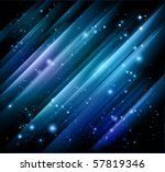 vector abstract lights  background - stock vector