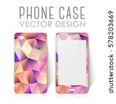 case for mobile phone with... | Shutterstock .eps vector #578203669
