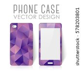 case for mobile phone with... | Shutterstock .eps vector #578203801