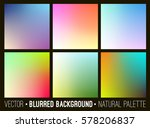 blurred abstract backgrounds... | Shutterstock .eps vector #578206837
