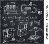 Street Food Trucks And Carts...