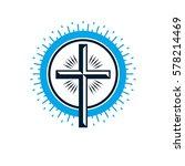 christian cross true belief...