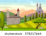 Castles On Hills Medieval...