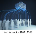 people of the world... | Shutterstock . vector #578217901