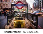 london  england   december 25 ... | Shutterstock . vector #578221621