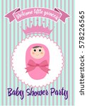 please join us baby shower card | Shutterstock .eps vector #578226565