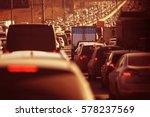 road transport freight... | Shutterstock . vector #578237569