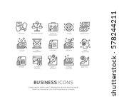 vector icon style illustration... | Shutterstock .eps vector #578244211