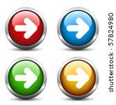 vector arrow buttons | Shutterstock .eps vector #57824980