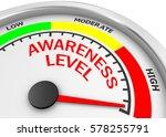 awareness level to maximum... | Shutterstock . vector #578255791