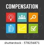 compensation concept | Shutterstock .eps vector #578256871