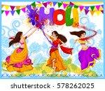 vector design of indian people...   Shutterstock .eps vector #578262025