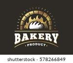bread logo   vector... | Shutterstock .eps vector #578266849