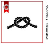 rope knot | Shutterstock .eps vector #578308927