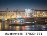 Prague   Vltava River Panorama...
