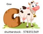 wooden textured bold font... | Shutterstock .eps vector #578351569