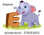 wooden textured bold font... | Shutterstock .eps vector #578351821