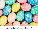 easter eggs | Shutterstock . vector #578354797