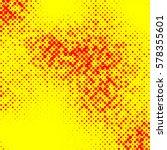 irregular halftone pop art ... | Shutterstock .eps vector #578355601