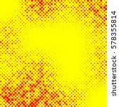 irregular halftone pop art ...   Shutterstock .eps vector #578355814
