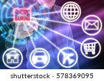 business and finance concept....   Shutterstock . vector #578369095