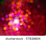 Glowing Christmas Light...