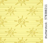 seamless pattern with gold... | Shutterstock .eps vector #578388211