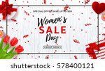 Web Banner For Women's Day Sal...