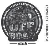 off road car logo  mud terrain... | Shutterstock .eps vector #578402875