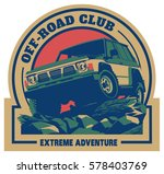 off road car logo  safari suv ... | Shutterstock .eps vector #578403769
