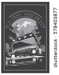 off road car logo  safari suv ...   Shutterstock .eps vector #578403877
