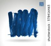 brush stroke and texture.... | Shutterstock .eps vector #578416465