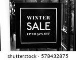 special price in winter sales.... | Shutterstock . vector #578432875