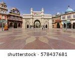 bollywood park at dubai parks... | Shutterstock . vector #578437681