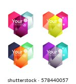 vector shiny blank web option... | Shutterstock .eps vector #578440057
