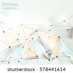 eps10 vector   abstract... | Shutterstock .eps vector #578441614