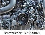 car engine  concept of modern... | Shutterstock . vector #578458891